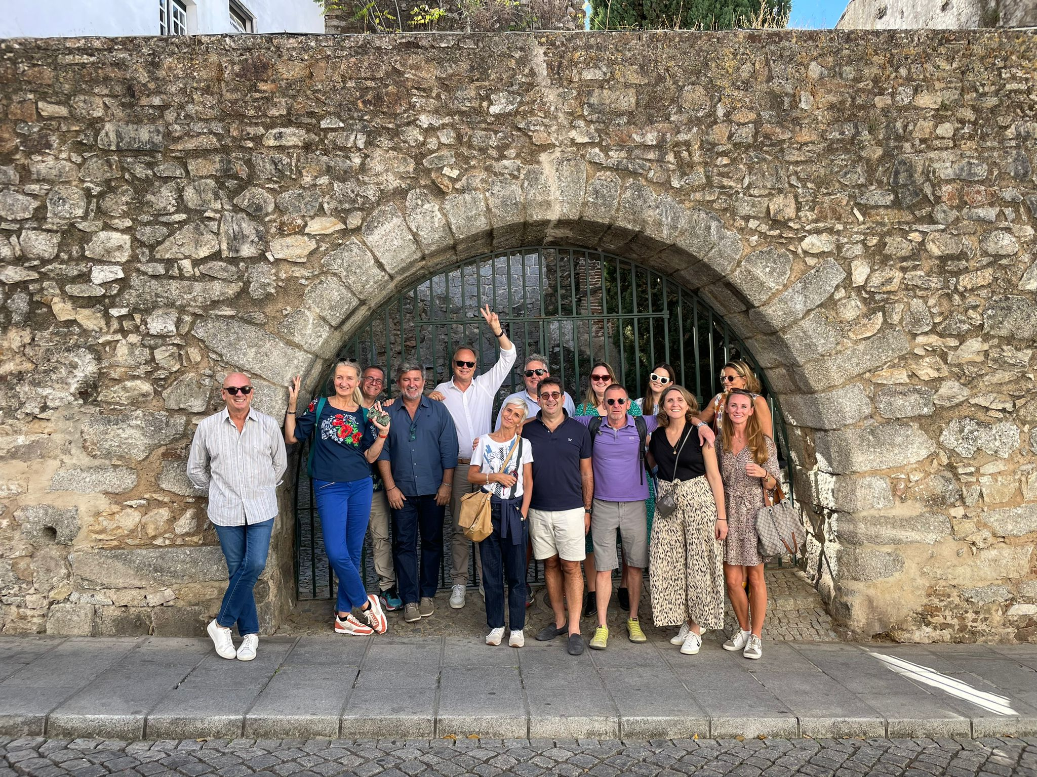 Reunión de la red TLN en Évora